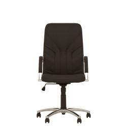 Кресло поворотное Новый Стиль Manager steel Tilt AL68 экокожа ECO-30 цвет черный
