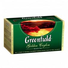Чай Greenfield Golden Ceylon черный байховый 100 пакетиков