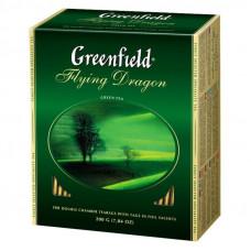 Чай Greenfield Flying Drаgon зеленый байховый 100 пакетиков