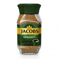 Кофе растворимый Jacobs Monarch 190 грамм в стеклянной банке