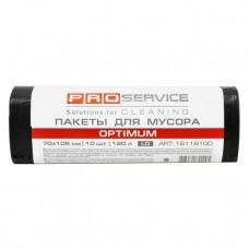 Пакеты для мусора PROservise Optimum 120 л 70х105 см 10 штук черные LD Арт. 16118100