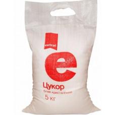 Сахар Extra! белый кристаллический 5 кг