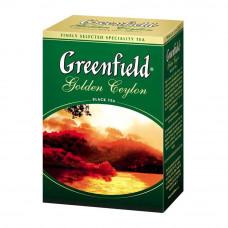 Чай Greenfield Golden Ceylon черный листовой 100 грамм