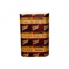 Полотенца бумажные Selpak Extra Z-сложения 2-х слойные /за уп. 200 листов/