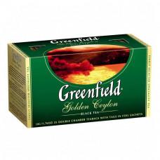 Чай Greenfield Golden Ceylon черный цейлонский 25 пакетиков
