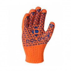 Перчатки DOLONI трикотажные с ПВХ - точкой 2-сторонние Арт. 584
