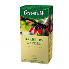 Чай Greenfield Barberry Garden черный байховый с ароматом барбариса 25 пакетиков