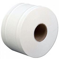 Бумага туалетная Clean Point Джамбо Lux Small рулонная 2-х слойная белая