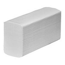 Полотенца бумажные Clean Point Lux Large  Z-сложения 2-х слойные белые /упак. 200 листов/