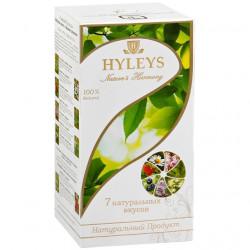 Чай Hyleys Гармония природы черный и зеленый семь натуральных вкусов пакетированный 25х1, 5 г