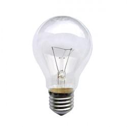 Лампа накаливания ЛОН А55 100 Вт Е27 прозрачная