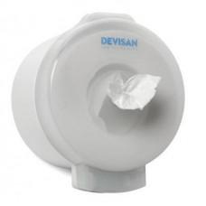 Диспенсер для туалетной бумаги Devisan Мини с центральной вытяжкой белый Арт. 803015.S.W