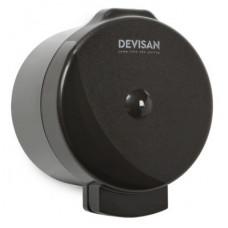 Диспенсер для туалетной бумаги Devisan Мини с центральной вытяжкой черный Арт. 803015.S.B