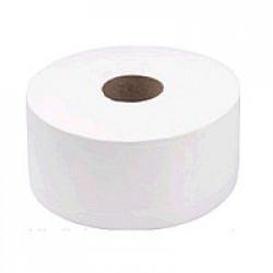 Бумага туалетная Джамбо BASIC 2-х слойная 120 м Тиша белая