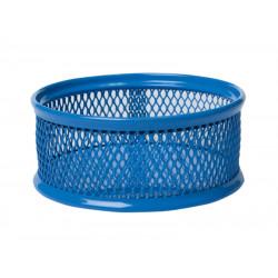 Бокс для скрепок BuroMax металл. сетка синий, Арт. BM.6221-02