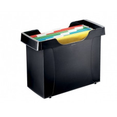 Картотека для документов Donau 365х160х250 мм пластиковая черная Арт. 7421001-01