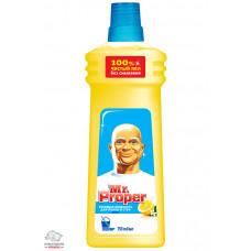 Моющее средство для уборки Mr. Proper Лимон 750 мл универсальное