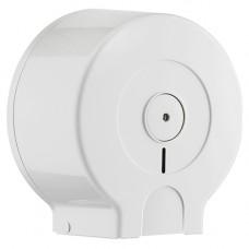 Диспенсер JUMBO ACQUALBA Mar Plast для туалетной бумаги Джамбо пластик белый Арт. A69301