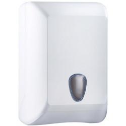 Диспенсер для туалетной бумаги Mediclinics JUMBO INDUSTRIAL пластик белый Арт. PR2783СS