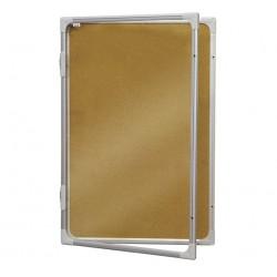 Доска витрина пробковая 90x120 см, 2x3