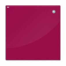 Магнитная доска стеклянная 100x150 см, 2x3, красная