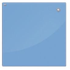 Магнитная доска стеклянная 40x60 см, 2x3, голубая