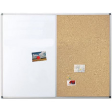 Доска комбинированная маркер/пробка 60х90 см, Ukrboards