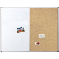 Доска комбинированная маркер/пробка 90х120 см, Ukrboards