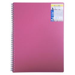 Блокнот Classic BuroMax , А6, 80л, клетка, красный, Арт. BM.2589-005